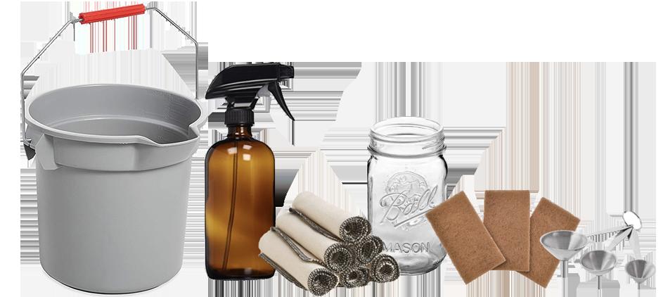 Zero Waste Cleaning Supplies