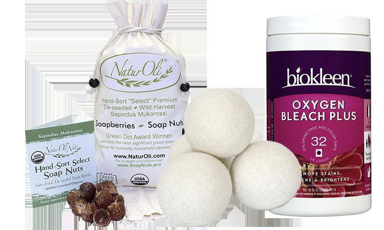 DIY Natural Laundry Ingredients