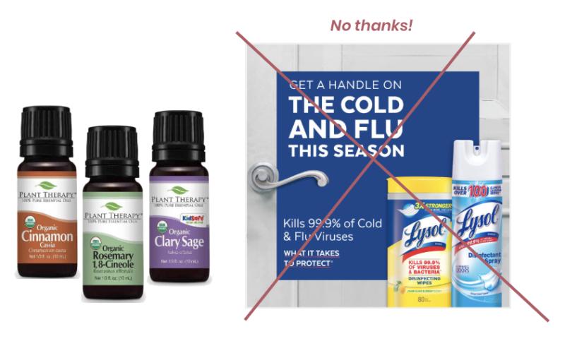 Essential Oils Kill Flu Virus